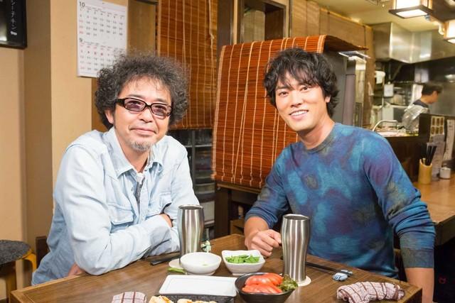奥田民生と桐谷健太。(写真提供:NHK)