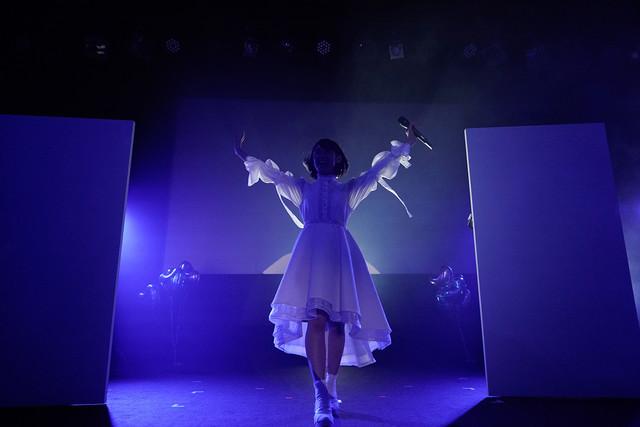 咲良菜緒(チームしゃちほこ)。(Photo by HIROKAZU)
