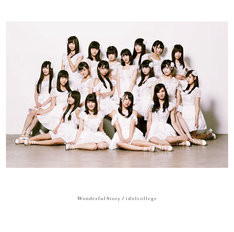 アイドルカレッジ「Wonderful Story」DVD付き盤ジャケット