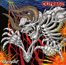 OUTRAGE「Raging Out」ジャケット