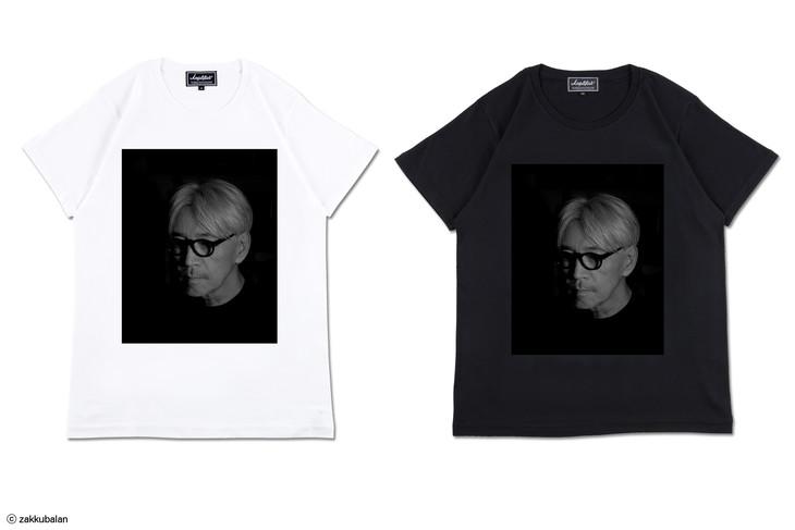 坂本龍一Tシャツ Design A(現在)