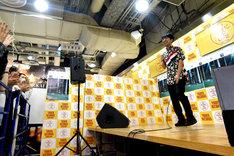 藤井隆のイベントの様子。