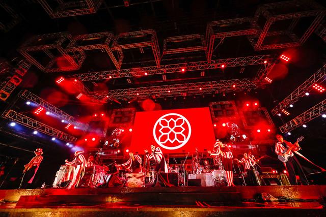 米米CLUB(撮影:上山陽介)