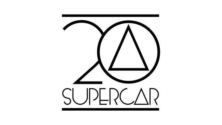 SUPERCARデビュー20周年ロゴ