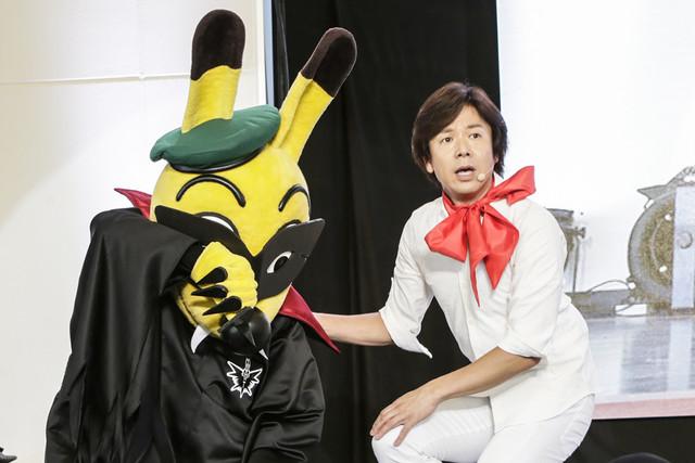 左からブラックトッピー、ひろみちお兄さんこと佐藤弘道。(Photo by Aya Horiguchi)
