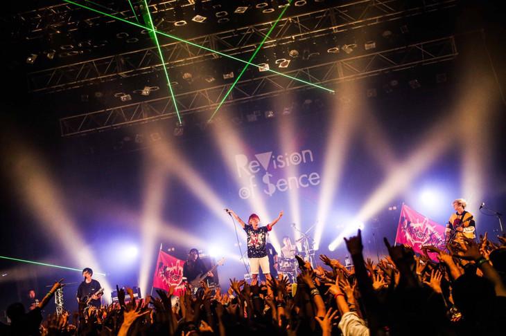 本日9月25日に東京・新木場STUDIO COASTにて行われた「大洗脳会」の様子。(撮影:タマイシンゴ)