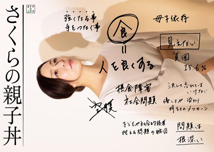 「さくらの親子丼」ポスター