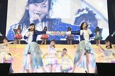 SKE48「SKE48大矢真那卒業コンサート in 日本ガイシホール ~みんなみんなありがとう!~」の様子。(写真提供:エイベックス)