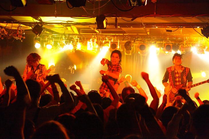 HEREのライブの様子。(撮影:高畠正人)