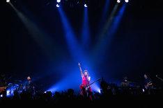 黒木渚「音楽の乱」東京・TSUTAYA O-EAST公演の様子。(撮影:椋尾詩)