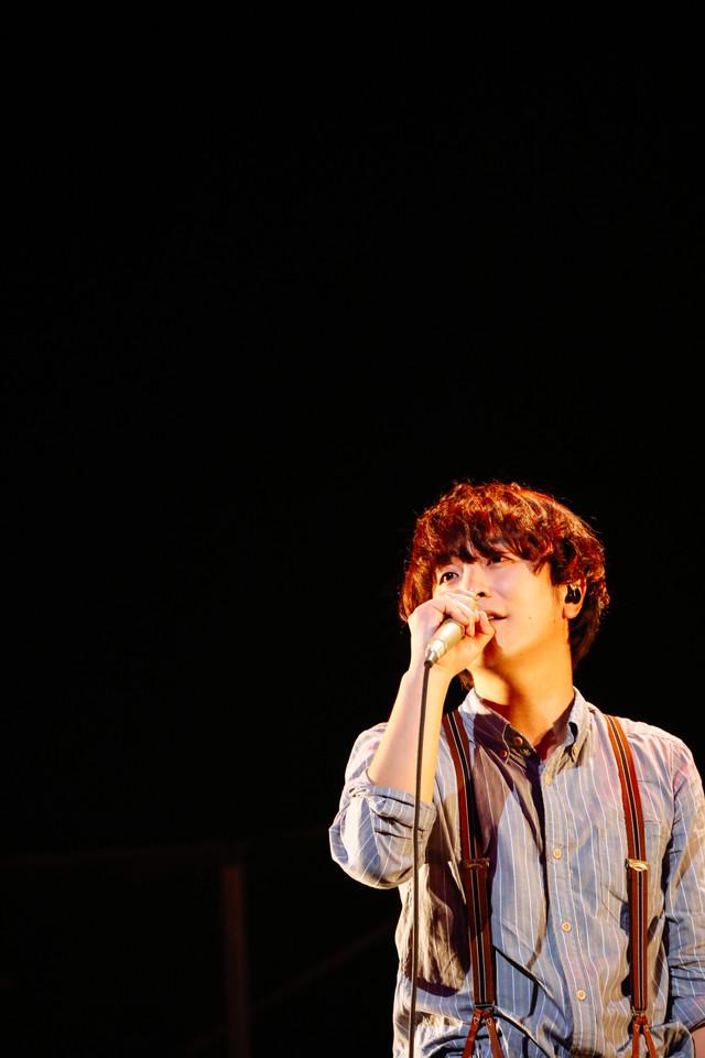 人気画像7位は「SEKAI NO OWARIが全国に思い届けた『ブレーメン』ライブ、横浜で終幕」より、Fukase(Vo, G)。(撮影:上山陽介)