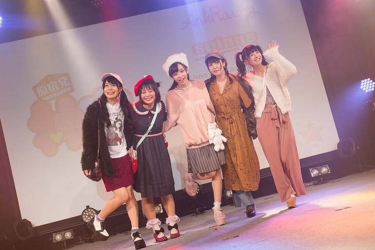神宿「神が宿る場所~HARAJUKU DREAM~」東京・ラフォーレ原宿公演の様子。