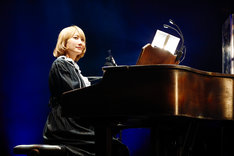 Saori(Piano)(撮影:上山陽介)