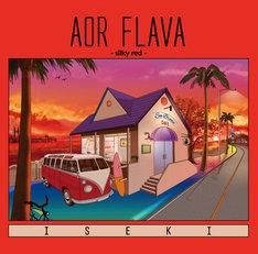 ISEKI「AOR FLAVA -silky red-」ジャケット