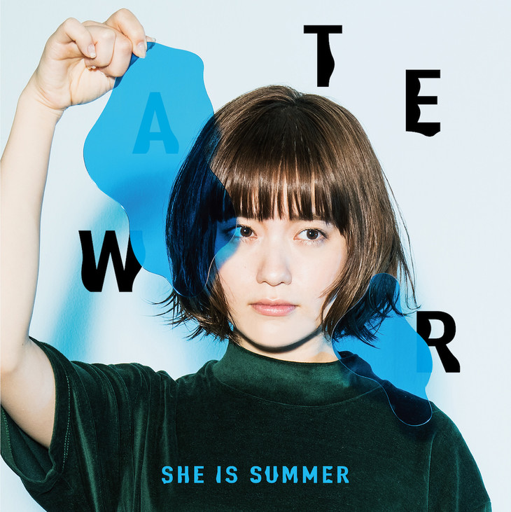 SHE IS SUMMER「WATER」ジャケット
