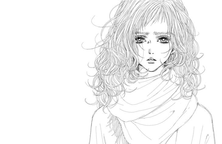 矢沢あいがJUJU「いいわけ」のために描き下ろしたイラスト。