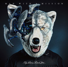 MAN WITH A MISSION「My Hero / Find You」通常盤ジャケット