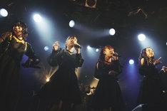 フィロソフィーのダンス「Do The Strand VOL.4」東京・渋谷CLUB QUATTRO公演の様子。(Photo by Genki Arata)