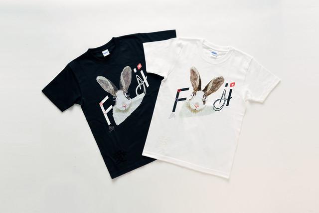 ウサギTシャツ