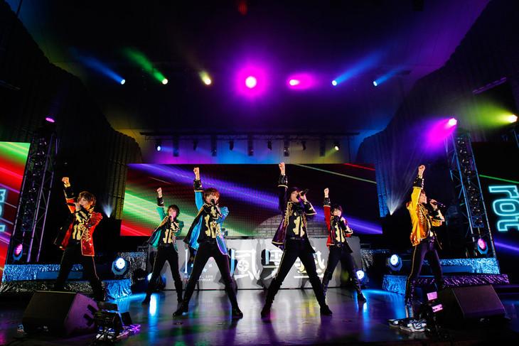 風男塾「FUDAN10KU LIVE 10th ANNIVERSARY in 野音」の様子。(撮影:武裕康)