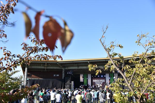 2017年10月に行われた「NEGi FES 2017 in 新潟・北方文化博物館」の様子。