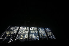 BABYMETAL「巨大キツネ祭り in JAPAN」大阪城ホール公演の様子。(Photo by Tsukasa Miyoshi [Showcase])