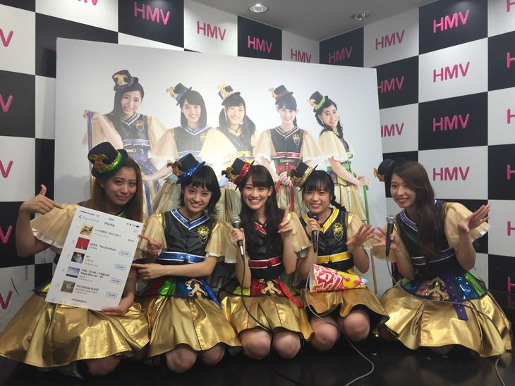 iTunesトップアルバムチャート1位を獲得したチームしゃちほこ。