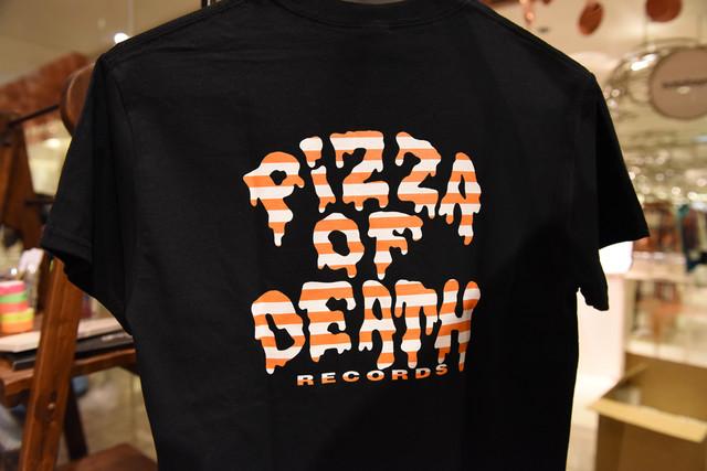 小沢健二とPIZZA OF DEATHボーダー×PIZZAロゴTシャツ