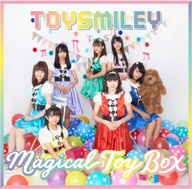 TOY SMILEY「Magical Toy Box」Type Aジャケット