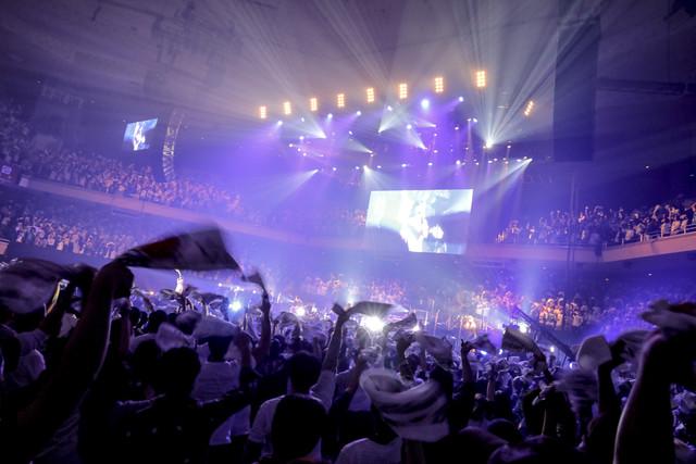 有安杏果「ココロノセンリツ ~feel a heartbeat~ Vol.1.5」東京・日本武道館公演の様子。(写真提供:キングレコード)