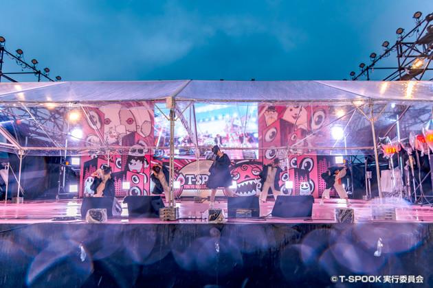 田村ゆかりのステージ。