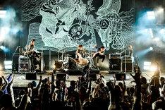 THE BACK HORN「『KYO-MEIワンマンライブ』~第三回夕焼け目撃者~」の様子。(Photo by Rui Hashimoto[SOUND SHOOTER])