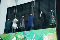 「欅坂46 UNIFORM MUSEUM supported by XYLITOL20th」の様子。