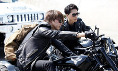 「HiGH&LOW THE MOVIE 3 / FINAL MISSION」のワンシーン。