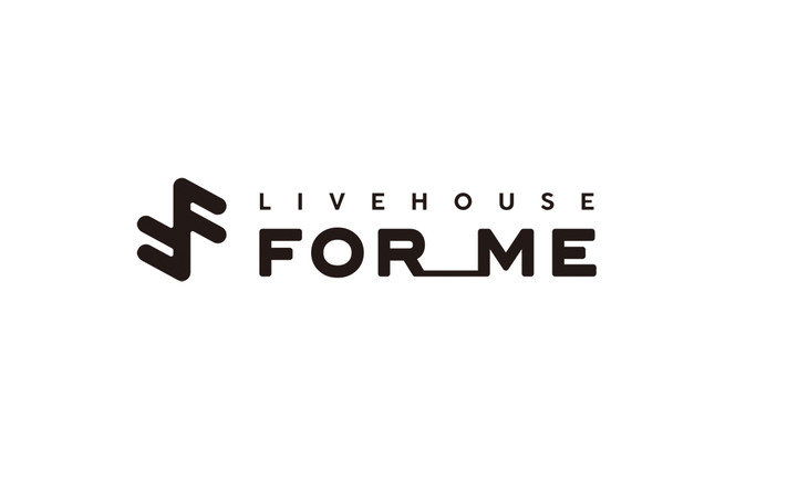 LIVE HOUSE FOR ME ロゴ