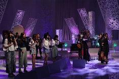 左からLittle Glee Monster、デーモン閣下、和楽器バンド。(c)フジテレビ