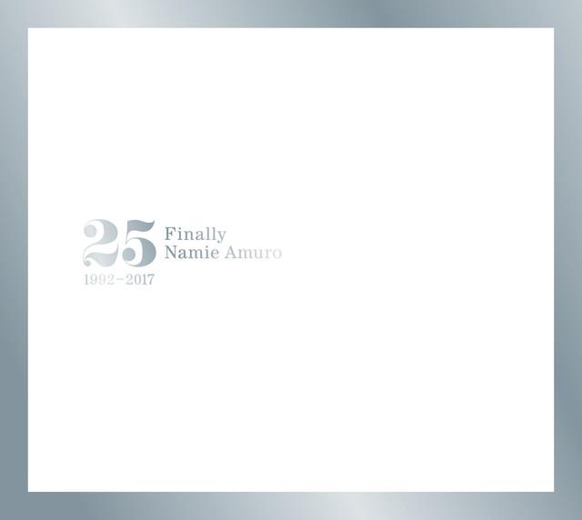 安室奈美恵「Finally」CD+DVD盤ジャケット