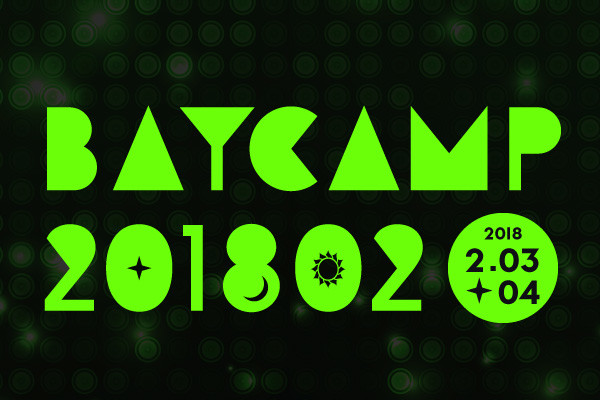 「BAYCAMP 201802」ロゴ