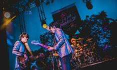 「BRADIO LA☆PA!PA!PA!PARADISE TOUR 2017」東京・Zepp Tokyo公演の様子。