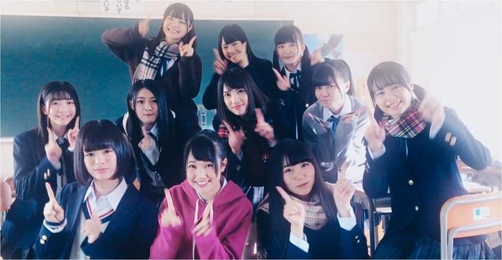 NGT48「大人になる前に」ミュージックビデオのワンシーン。