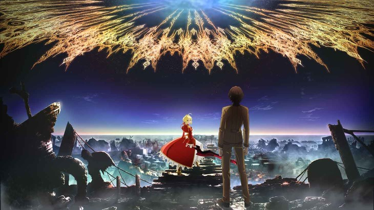 「Fate/EXTRA Last Encore」キービジュアル (c)TYPE-MOON/Marvelous, Aniplex, Notes, SHAFT