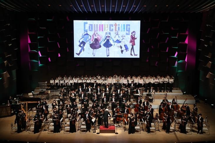 「初音ミクシンフォニー2017」大阪公演の様子。