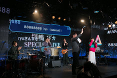 「【ryo (supercell)がニコ生に初参戦!】桐嶋ノドカSPECIAL LIVE @ 六本木ニコファーレ」の様子。(撮影:結城さやか)