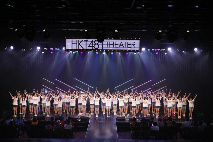 HKT48「HKT48 6フェス ~LOVE&PEACE!ROCK周年だよ、人生は…~」6周年特別記念公演の様子。(c)AKS