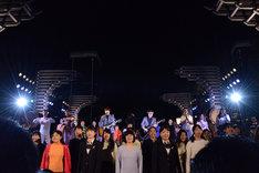 「東京2020参画プログラム 文化オリンピアードナイト」ゆずの演奏の様子。