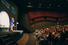 「MISIA SOUL JAZZ SESSION」特別先行上映会&トークショーの様子。(写真提供:アリオラジャパン)