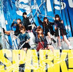 大阪☆春夏秋冬「SPARK!」CD+DVD盤ジャケット