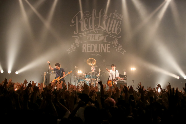 「REDLINE TOUR 2017」My Hair is Badのライブの様子。(Photo by Viola Kam [V'z Twinkle])