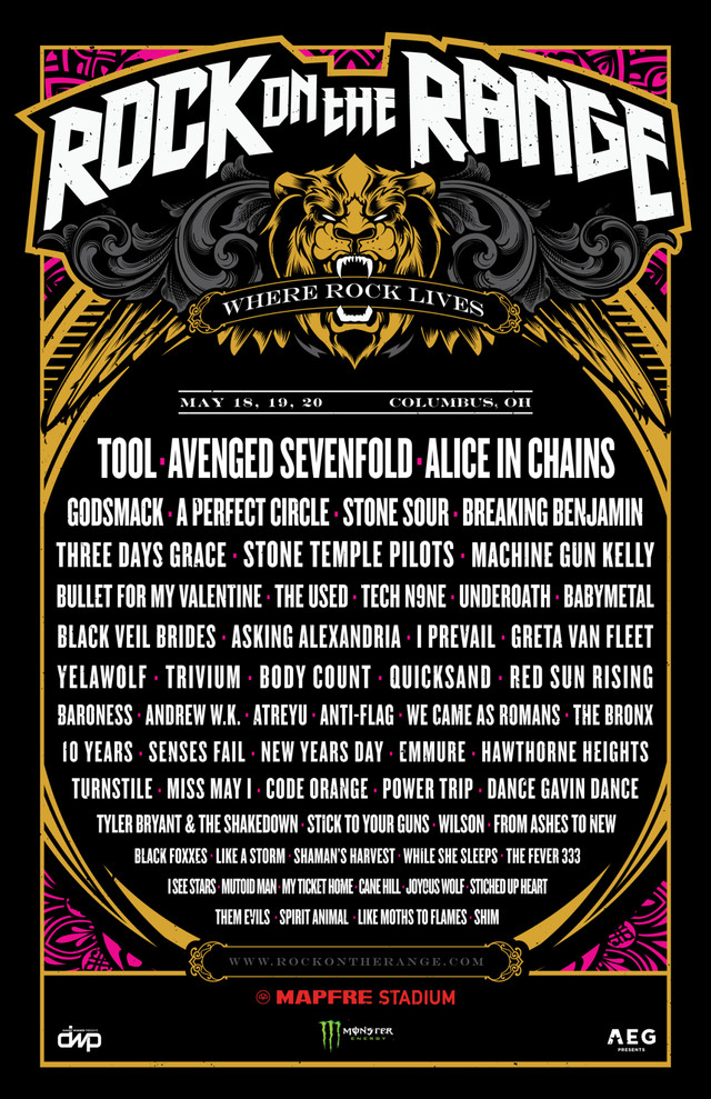 「Rock On The Range 2018」告知