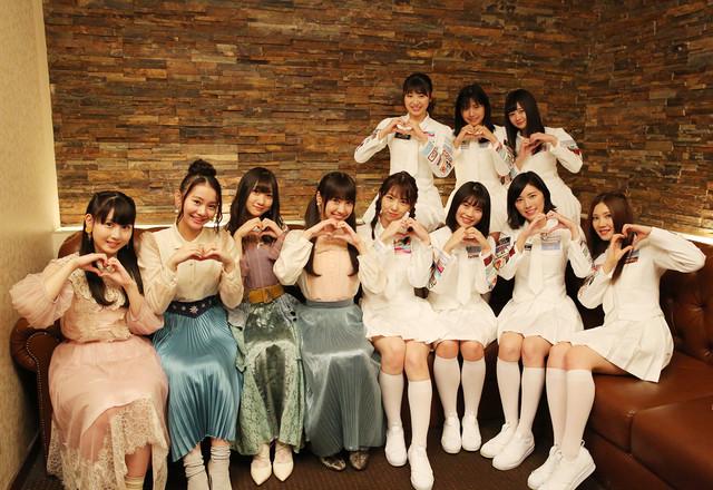SKE48の派生ユニット、ラブ・クレッシェンド。